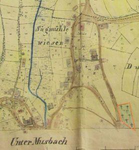 Friedhofacker 1847