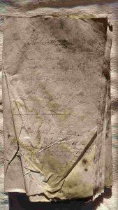 Deckblatt Einquartierungsabrechnung 1796 bis 1798
