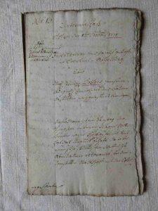 Eventual-Teilung Philipp Kohler 1771