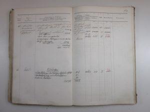 Feuerversicherungsbuch 1887, Haus Nr. 66