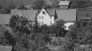 Auszug Luftbild 1958 Haus Nr. 28