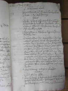 Inventarium von 1724