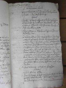 Inventarium und Erbverteilung Witwe Frey 1724