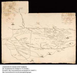 Karte von Johann Mayer