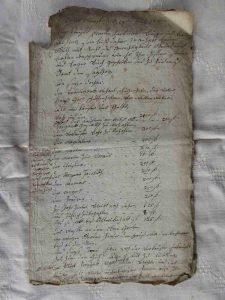 Kaufbrief 1789 - Hartmann