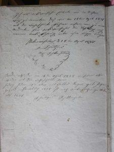 Schneefall am 18. April 1837. Eine Denkschrift von Schultheiß Michael Schittenhelm