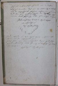 Kaufbuch 1831 Schultheiß Schittenhelm