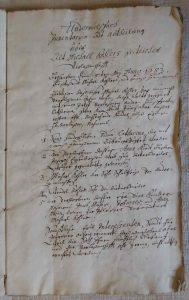 Inventarium Kohler 1683