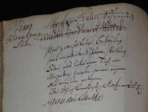 Lagerbuch 1766 Finkbeiner-Braun-Kuhn