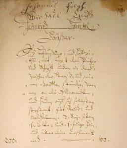 Lagerbuch 1687 Hof Nr. 2