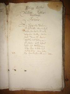 Lagerbuch von 1687, Michael Kohler