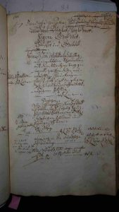 Lagerbuch 1766 Seite 62 Haus Nr. 34