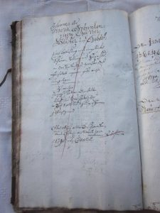 Lagerbuch von 1766 Haus Nr. 3