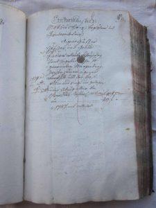 Lagerbuch 1766 Seite 83, neu erbaut von Leix