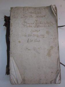 Lagerbuch Untermusbach von 1766, Band 1