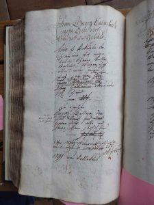 Lagerbuch 1799 Haus Nr. 13