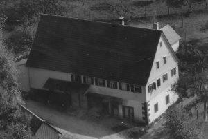 Luftaufnahme 1958 Haus Nr. 15