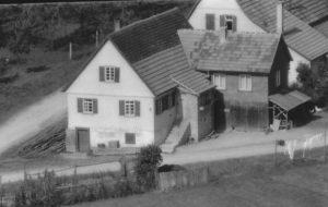 Ausschnitt Luftbild 1958, Haus Nr. 60