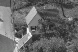 Ausschnitt Luftbild 1958, Haus Nr. 62