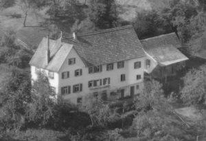 Ausschnitt Luftbild 1958, Haus Nr. 64