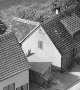 Ausschnitt Luftbild 1958, Haus Nr. 66