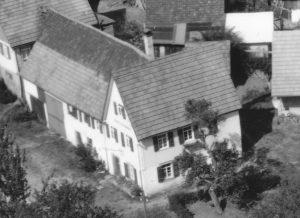 Ausschnitt Luftbild 1958, Haus Nr. 51