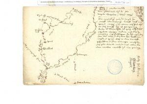 Skizze von Heinrich Schickhardt