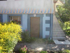 Tür von Haus Nr. 7 mit Baudaten