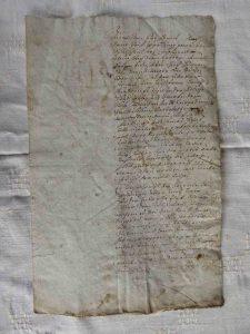 Kaufbrief von 1683