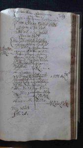 Lagerbuch von 1799 Seite 259