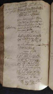 Lagerbuch von 1799 Seite 259b