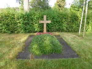 Ehrengrab Oberleutnant Bickner