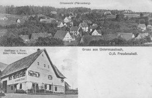 Gasthaus Rose 1910, Inhaber Wurster