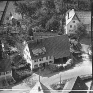 Luftbild 1958, Haus Nr.67