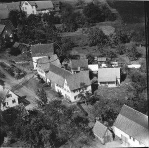 Luftbild 1958, Nr. 53 im Kreis