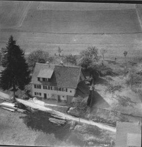 Luftbild 1958, Haus Nr. 57