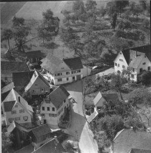 Luftbild 1958, Haus Nr. 62