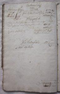 Brand-Versicherungsbuch von 1786