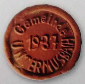 Grenzsteinzeuge Untermusbach 1937