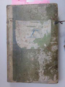 Untermusbacher Kaufbuch von 1831 bis 1850