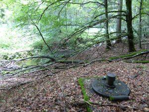 Grüntaler Brunnenschacht Deckel