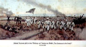 Deutsche Truppen 1900 in China  Bild entnommen aus Wikipedia