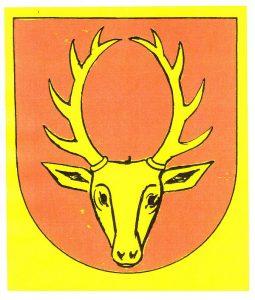Musbach Wappen, Originalentwurf von Paul Kälberer 1956